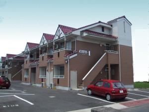 コーポCITY1  アパート新築 (2棟)