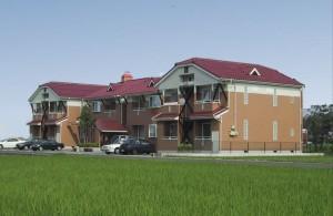 トゥモローハウス アパート新築 (2棟)