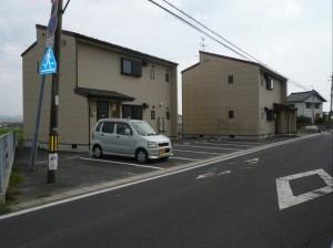 コーポローズA・B  アパート新築