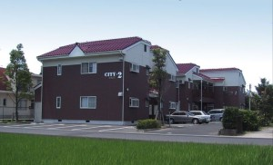 コーポCITY2  アパート新築 (2棟)