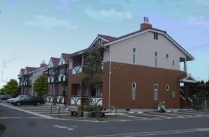TOWN21-ロフト アパート新築